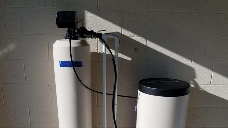water softener installation