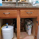 Reverse Osmosis System Install Project For The Sutherland Family In Tampa, FL