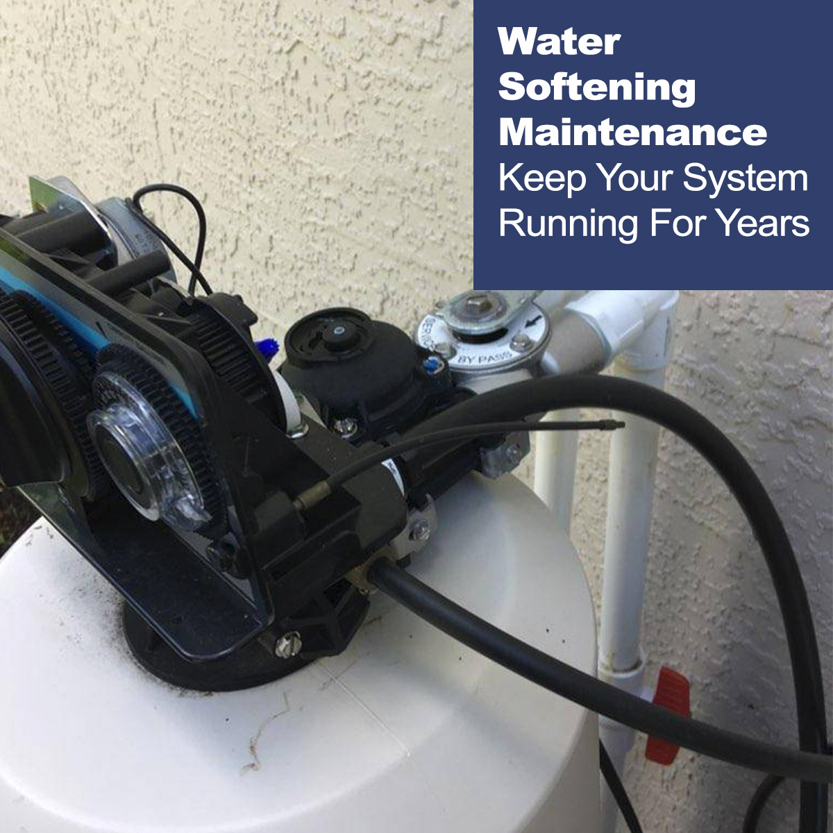 water softening maintenance